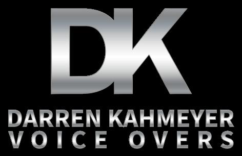Darren Kahmeyer Voice Overs Logo